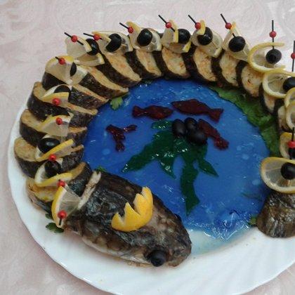 """Лабораторная работа """"Технология приготовления сложных холодных блюд и закусок из рыбы, нерыбных продуктов моря"""""""